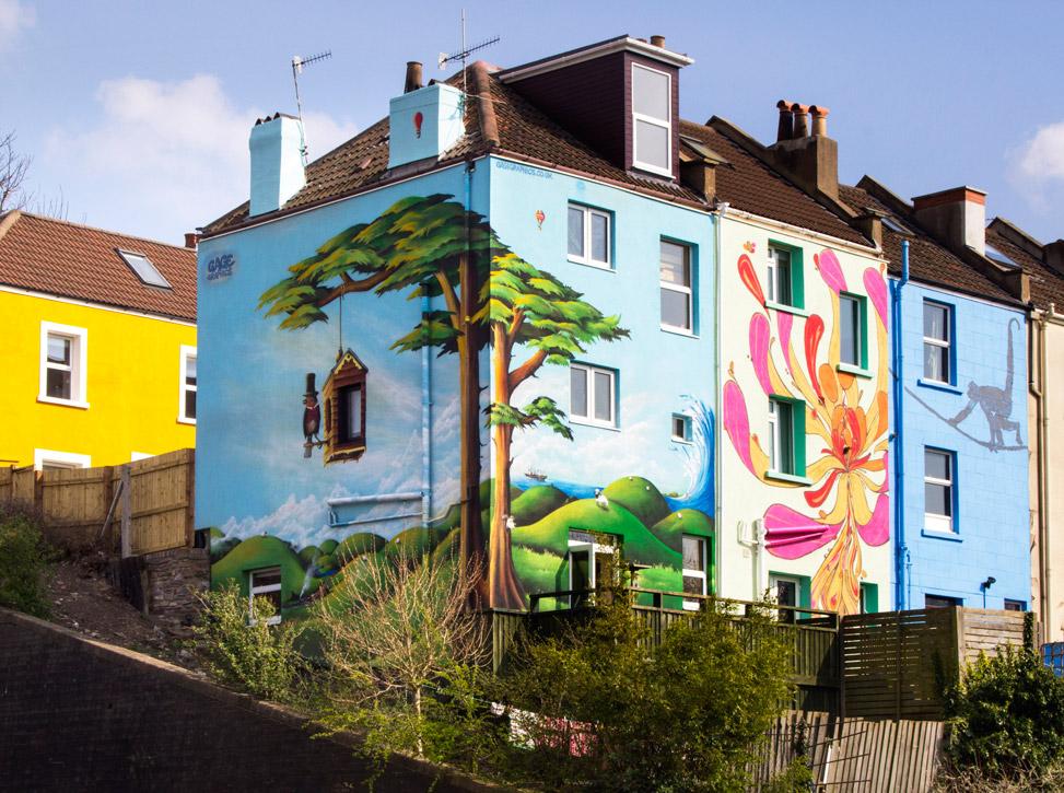 Mural_House_BristolRailway
