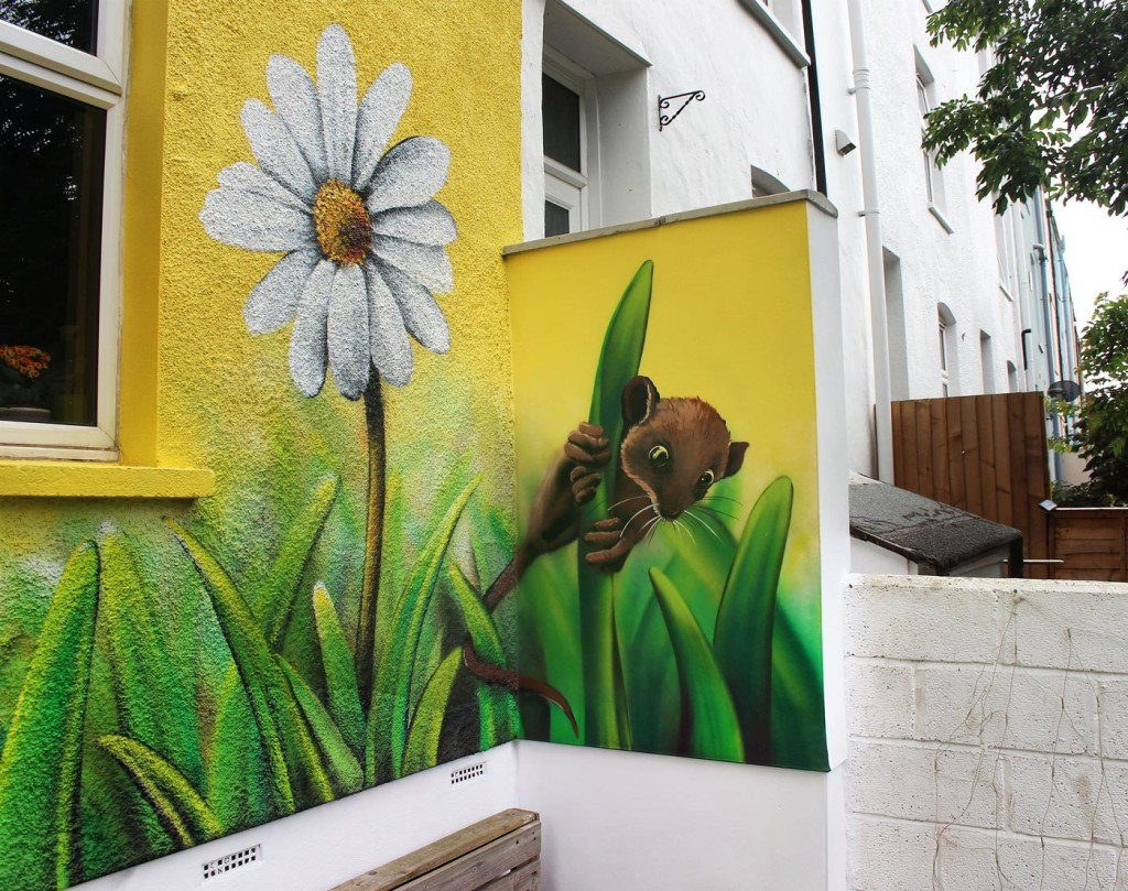 Mural_House_Sunflower_Mouse