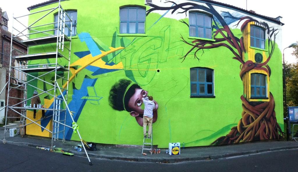 Mural_Baggator_Progress