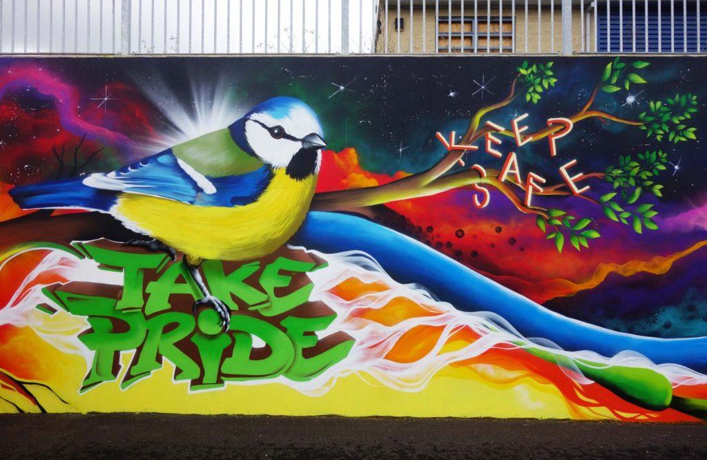 Oasis Academy School Mural