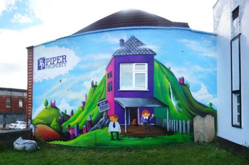 Piper Property Mural Bristol