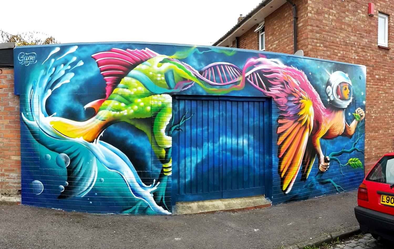street artist mural painter gage graphics bristol south west. Black Bedroom Furniture Sets. Home Design Ideas