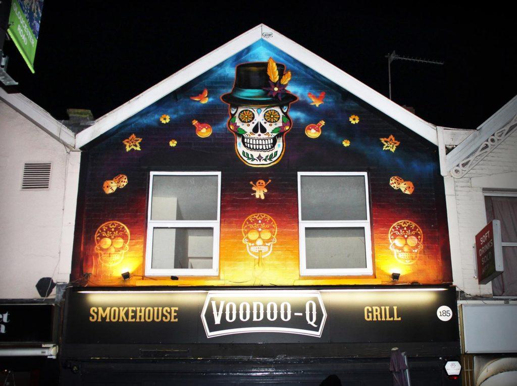 Voodoo Q Restaurant Exterior