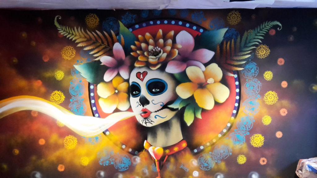 Voodoo Q Restaurant LOVE Wall